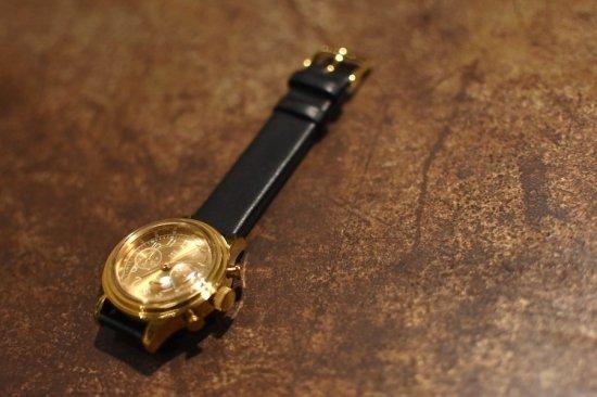 ヴァーグウォッチ ( vague watch ) 2eyes / クロノグラフ腕時計  - エンシニータス