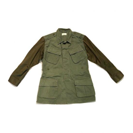 ホリデイ(holiday) military bicolor jacket/ミリタリービーカラージャケット hd17202599