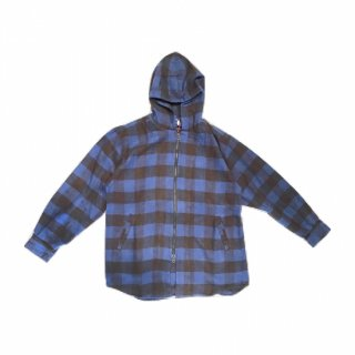 cal o line / キャルオーライン  BUFFALO PLAID NEL HOODED SHIRTS CL172-032
