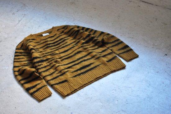 キャルオーライン (cal o line) tiger mohair crew neck / タイガーモヘアクルーネック CL172-065 - エンシニータス