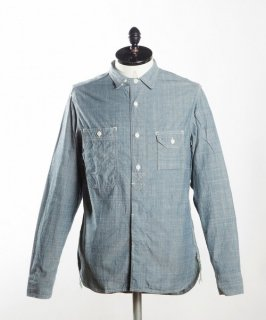 sunny sport/サニースポーツ 40's work organic shirts sn08s006