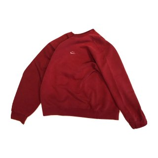 nike/ナイキ 90's remake swoosh crew sweat(made in usa) type 7 red size L