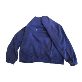 nike/ナイキ 90's remake swoosh crew sweat(made in usa) type 8 navy size XL