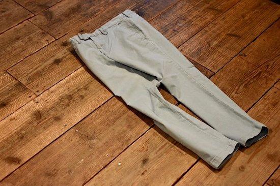 レミレリーフ (remi relief) chino stretch color pants / チノストレッチカラーパンツ sax rn3001sda - エンシニータス