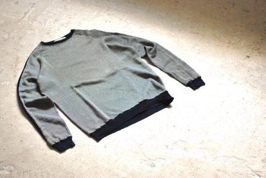 レミレリーフ (remi relief) gingham check jq crew sweat / スウェット RN18229183 - エンシニータス