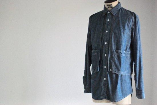 キャルオーライン (cal o line) エンシニータス別注 painter shirts / ペインターシャツ CL181-033C - エンシニータス