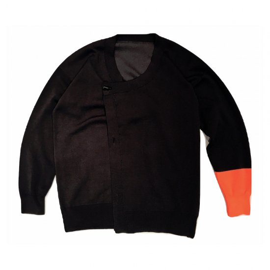 アレキサンダーリーチャン (Alexander Lee Chang) freaks knit cardigan / 超撥水 CHARCOAL AC-061801 - エンシニータス