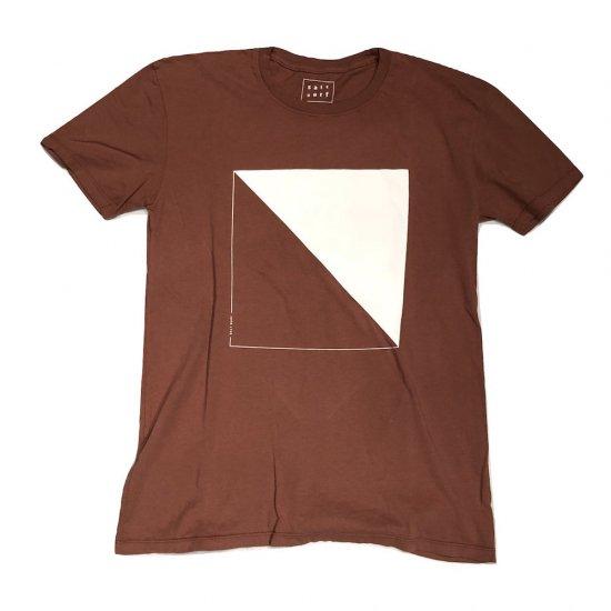 ソルトサーフ (salt surf)  cube tee / 半袖Tシャツ made in usa rust - エンシニータス