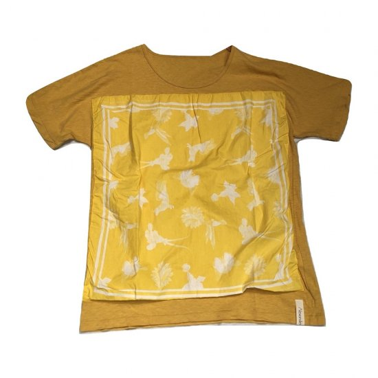 アレキサンダーリーチャン (Alexander Lee Chang) bandana t / 半袖T yellow AC-011804 - エンシニータス