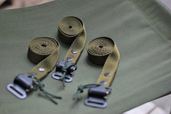 デッドストック (dead stock) 90s british army sas belt / イギリス軍 ベルト olive - エンシニータス