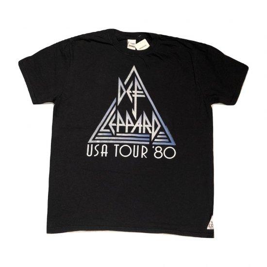 """スリフティールック (thrifty look) t-shirts """"DEF LEPPARD"""