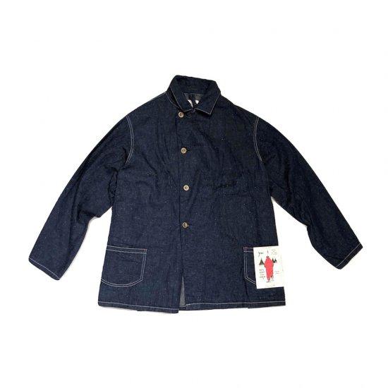 キャルオーライン (cal o line)  denim over coat / デニムオーバーコート CL182-045 - エンシニータス