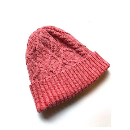 キャルオーライン (cal o line) silk knit / シルクニット SALMON RED CL162-107 - エンシニータス