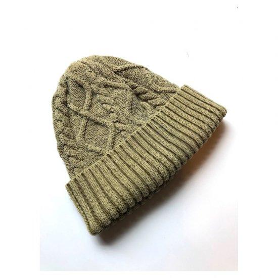 キャルオーライン (cal o line) silk knit / シルクニット MOSS GREEN CL162-107 - エンシニータス