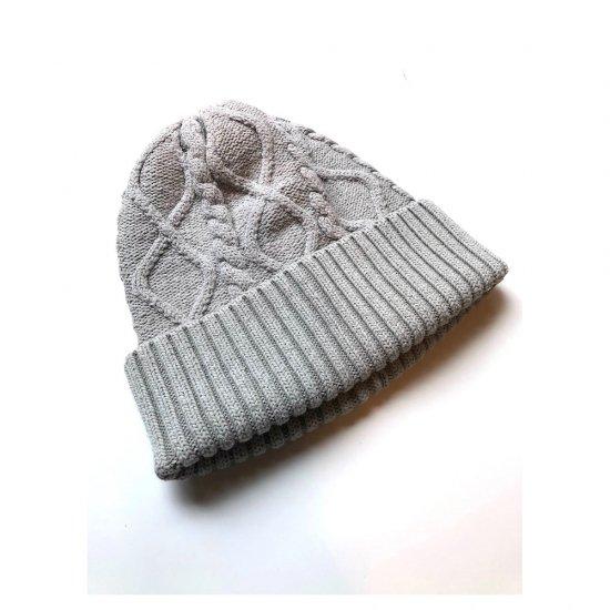 キャルオーライン (cal o line) silk knit / シルクニット GREY CL162-107 - エンシニータス