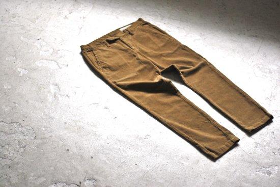 レミレリーフ (remi relief) stretch corduroy pants / ストレッチコーデュロイパンツ rn18233090 beige  - エンシニータス