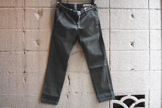 レミレリーフ (remi relief) stretch corduroy pants / ストレッチコーデュロイパンツ rn18233090 green  - エンシニータス