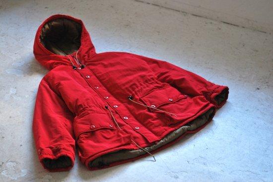 バーラップ アウトフィッター (burlap outfitter)  button front parka /  ジャケット 18FWB0010065 RED - エンシニータス