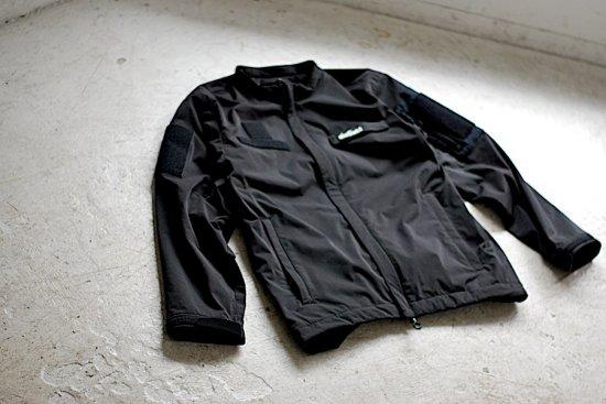 マウトリーコンテイラー × ワイルドシングス (mout recon tailor × wild things) low loft jacket mout18aw005 black - エンシニータス