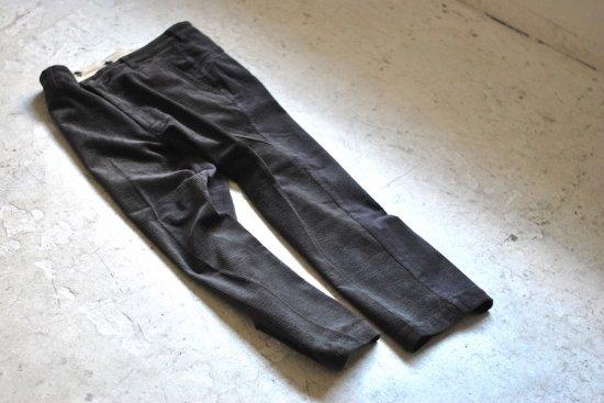 アレキサンダーリーチャン (Alexander Lee Chang) sk8 fat cordy pt  / スケートパンツ charcoal AC-041812 - エンシニータス