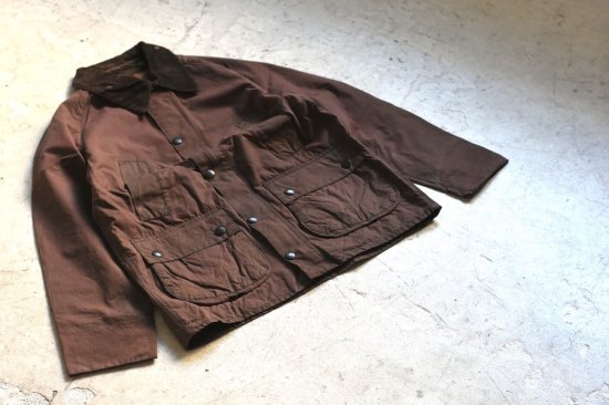 バブアー (barbour) 80'-00's old barbour resize jacket / オイルジャケット burgundy bedale type 1 - エンシニータス