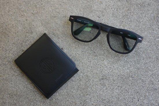 マウトリーコンテイラー ( mout recon tailor ) photochromic folding sunglasses / サングラス black g15 - エンシニータス