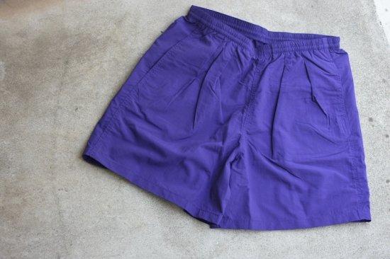バーラップ アウトフィッター (burlap outfitter) track shorts / 水陸 両用 ショーツ purple - エンシニータス