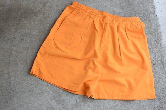 バーラップ アウトフィッター (burlap outfitter) track shorts / 水陸 両用 ショーツ orange - エンシニータス
