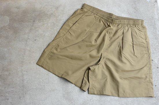 バーラップ アウトフィッター (burlap outfitter) track shorts / 水陸 両用 ショーツ coyote - エンシニータス