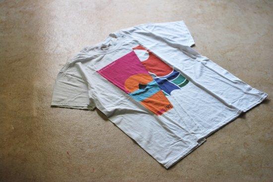 スリフティールック (thrifty look) twins t-shirts