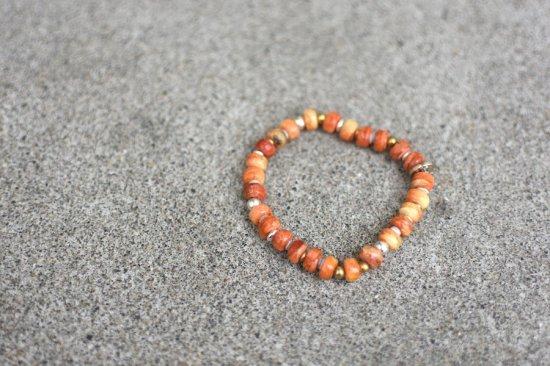 アカシックツリー ( akashic tree ) bracelet / ブレスレット coral  - エンシニータス