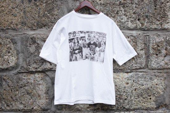 キャルオーライン (cal o line) air guiter s/s tee / Tシャツ Joseph Szabo - エンシニータス