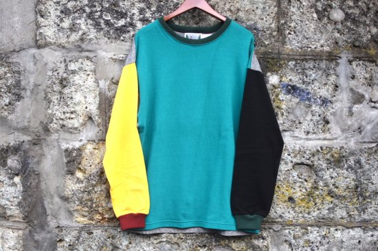 コロンビアニット ( columbia knit ) 1000pj practice rugby crew / ラグビーシャツ クレイジーパターン size m type 1 - エンシニータス