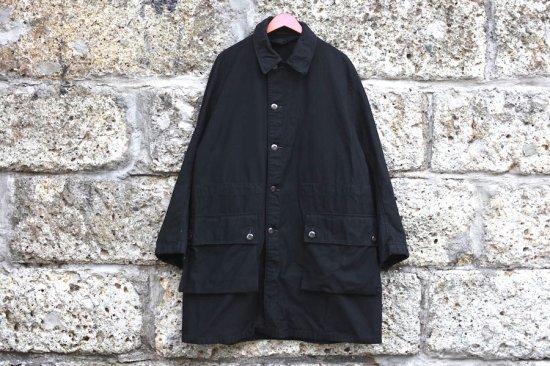 ミリタリー ( military ) 60's - 70's Sweden army m-59 field coat  / スウェーデン軍 黒染め フィールドコート  - エンシニータス