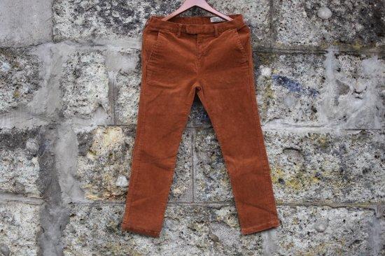 レミレリーフ (remi relief) stretch corduroy pants / ストレッチコーデュロイパンツ rn191253181 orange  - エンシニータス