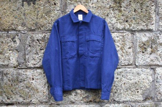 デッドストック ( dead stock) Italian army moleskin work jacket  / イタリア軍 ワークジャケット - エンシニータス
