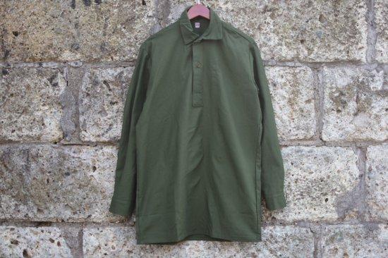 デッドストック ( dead stock) Sweden army M55 pullover shirts  / スウェーデン軍 プルオーバーシャツ - エンシニータス