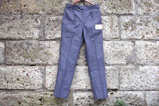 デッドストック (dead stock) 00's French marine denim work trousers / デニム ワークパンツ - エンシニータス
