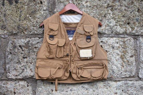 デッドストック (dead stock) GAP 90's fishing vest / フィッシングベスト - エンシニータス