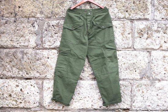 ミリタリー ( military ) 80's - Sweden army cargo pants  / スウェーデン軍 水陸両用部隊 カーゴパンツ - エンシニータス