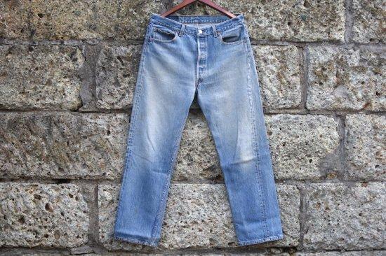 リーバイス ( levi's ) 95's made in usa 501 denim pants / デニム パンツ w36 l30 type1 - エンシニータス