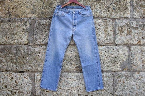 リーバイス ( levi's ) 94's made in usa 501 denim pants / デニム パンツ w35 l32 - エンシニータス