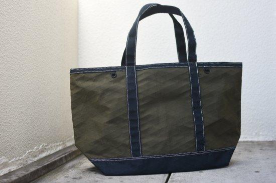 バーラップ アウトフィッター (burlap outfitter) x-pac tote bag / トートバッグ olive / black duck - エンシニータス