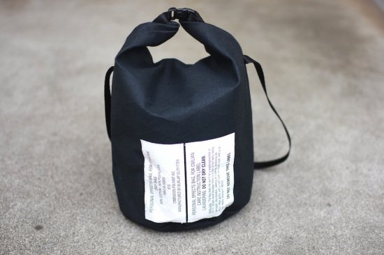 バーラップ アウトフィッター (burlap outfitter) personal effect bag / バッグ black duck - エンシニータス