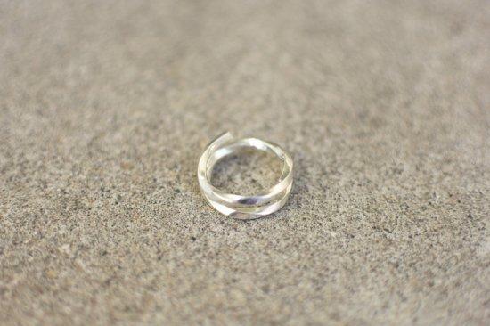 アカシックツリー ( akashic tree ) silver 1000 twist ring  / ツイスト リング 20号 シルバー  - エンシニータス