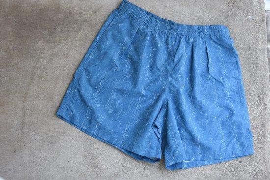 バーラップ アウトフィッター (burlap outfitter) track shorts / 水陸 両用 ショーツ denim - エンシニータス