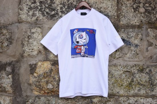 ベンズ [ bend(s) ] encinitas 別注 apollo s/s tee / Tシャツ white 20senc009 - エンシニータス
