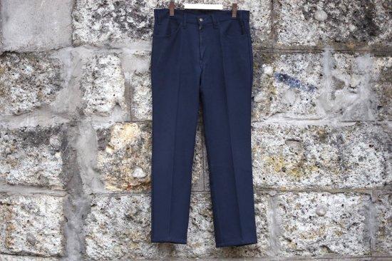 リーバイス ( levi's ) used 80's sta prest pants / スタープレスト navy - エンシニータス