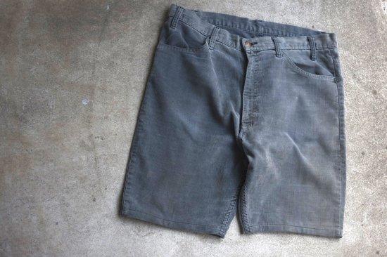 リーバイス ( levi's ) used 519 corduroy shorts / コーデュロイ ショーツ grey - エンシニータス