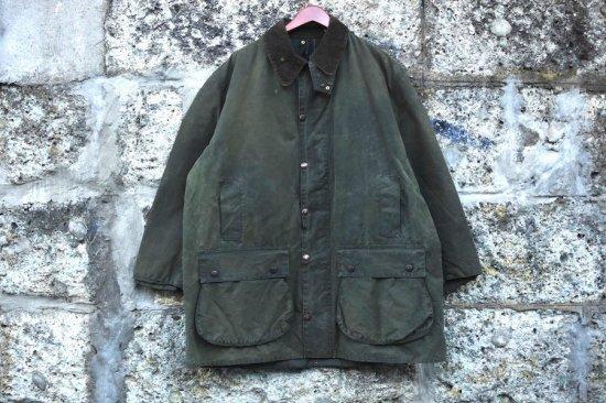 バブアー ( barbour ) 92's vintage jacket northumbria / ビンテージバブアー リプルーフ ノーザンブリア c50 - エンシニータス